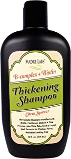 Madre Labs Thickening B-Complex Biotin Shampoo No Sulfates Citrus Squeeze 14 fl oz 414 ml