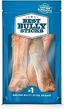 Best Bully Sticks Jumbo Smoked Beef Shin Bones (3 Pack) - Free-Range, All-Natural, Grass-Fed Beef Dog Chews