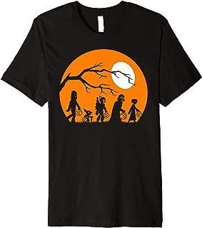 Trick Or Treat Halloween Silhouette Premium Shirt Premium T-Shirt