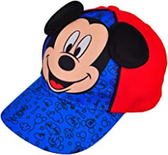 Mickey Mouse Little & Baby Boys Toddler Character Baseball Hat Red/Royal