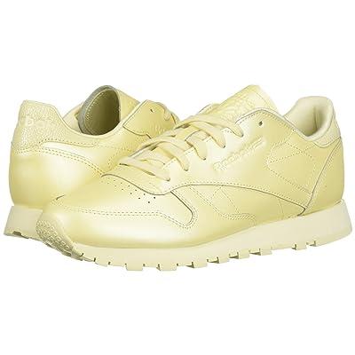 Reebok Lifestyle Classic Leather (Washed Yellow) Women
