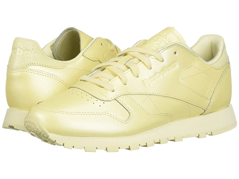 Reebok Lifestyle Classic Leather (Washed Yellow) Women