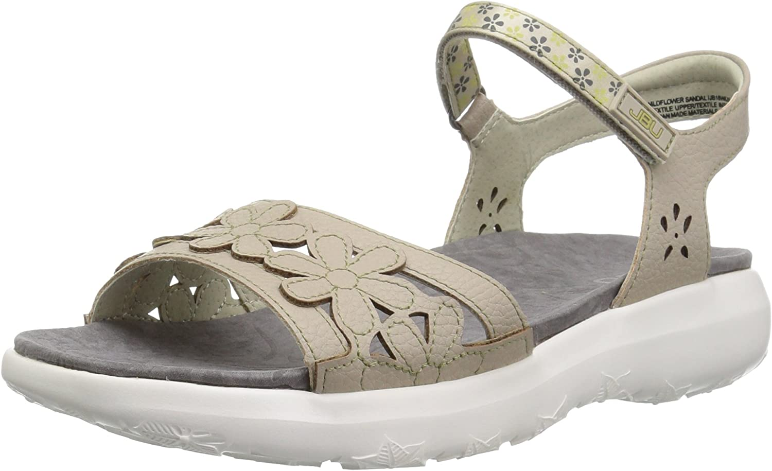Jambu Womens Wildflower Sandal Sandal