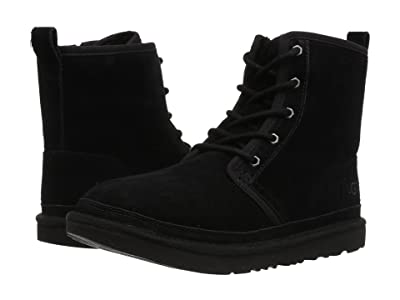 UGG Kids Harkley (Little Kid/Big Kid) (Black) Kid