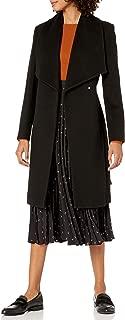 Women's Slick Wool Wrap Coat
