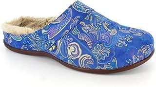 Vienna Womens Nubuck Leather Sandal in Purple