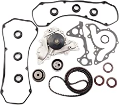 cciyu Timing Belt Water Pump with Gasket Tensioner Bearing Fits 1995 1996 1997 1998 1999 2000 Chrysler Cirrus/1995 1996 1997 1998 2000 Dodge Avenger 2.5L 3.0L