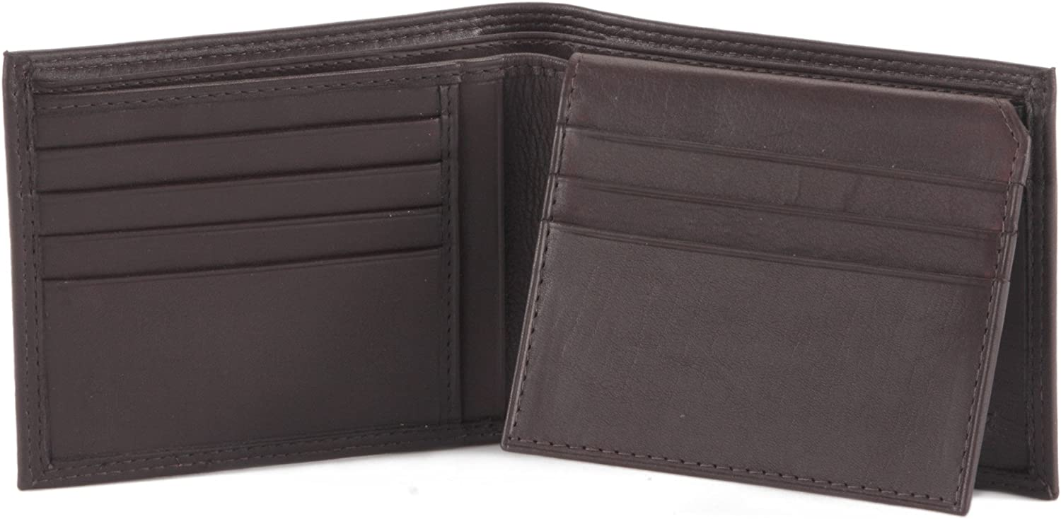Style n Craft 300796 BiFold PassCase Wallet with Flap - Soft High Grade Nappa Leather