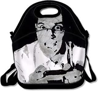Lievon Humor Angry Video Game Nerd Insulated Large Lunch Bag for Women, Men and Kids