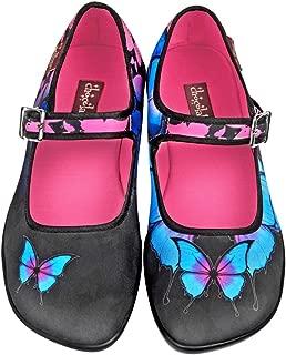 Hot Chocolate Design Chocolaticas Dark Butterfly Women's Mary Jane Flat