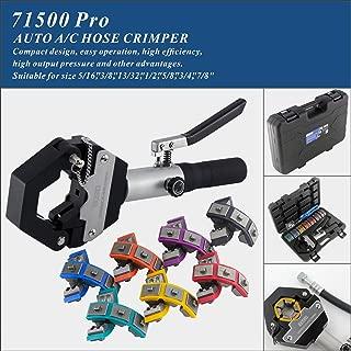 IBOSAD Hydraulic Hose Crimper Hydra-Krimp 71500 Manual A/C Hose Crimper Kit Air Conditioning Repaire Handheld Hydraulic Hose Crimping Tool