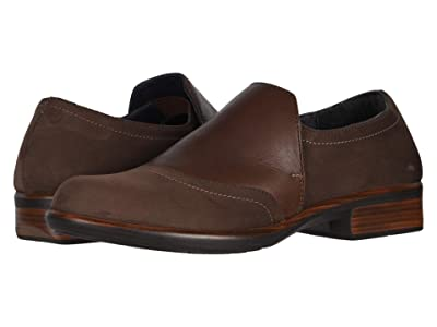Naot Angin (Coffee Nubuck/Toffee Leather) Women