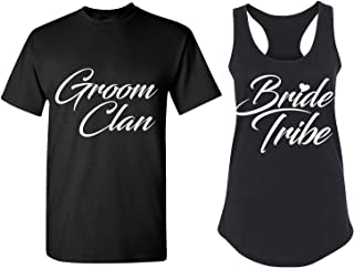Couples Apparel Wedding Party Matching Bachelorette T Shirts ~ Bridal Tank Tops