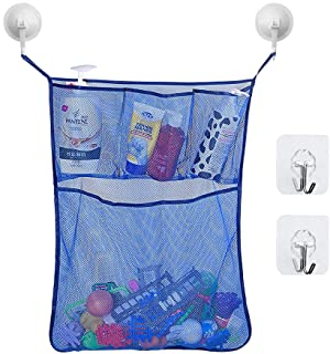 Leadwin Extra Large Size Bath Toy Storage,Bathtub Toy Organizer,Multi-Function Holder for Baby Bath Toys Storage and Quick...