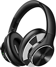 OneOdio Bluetooth 5.0 Headphones-Active Noise Cancelling Headphones wireless Over Ear with 40 Hour Battery Hi-Fi Sound Deep Bass CVC 8.0 Call ANC, Quick Charge for Travel Office TV Mobile Phone PC