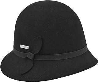 LIERYS Dimila Glockenhut mit Schleife Damenhut Wollhut Wollfilzhut Hüte