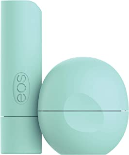 eos USDA Organic Lip Balm - Sweet Mint | Lip Care to Nourish Dry Lips | 100% Natural and Gluten Free | Long Lasting Hydrat...