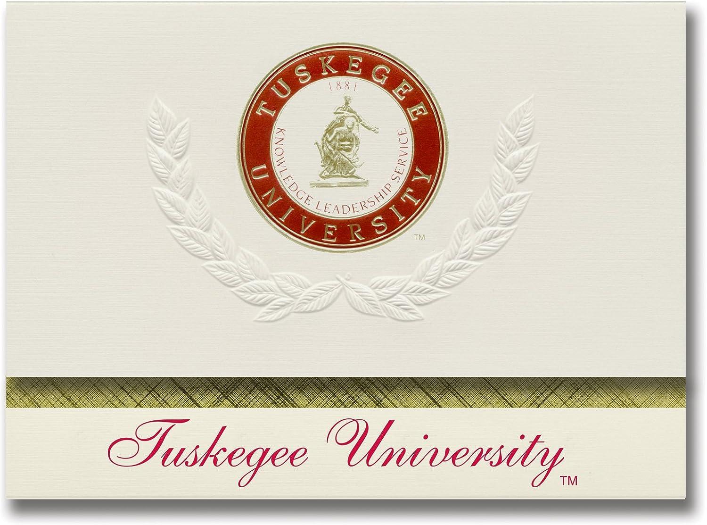 Signature Ankündigungen Tuskegee (Universität Graduation Ankündigungen, platin Stil, Elite Pack 20 mit Tuskegee (u. Dichtung Folie B0793R67PH      Angemessene Lieferung und pünktliche Lieferung