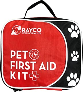 Rayco International Ltd Pet First Aid Kit and LED Emergency Collar