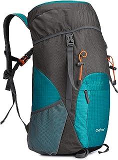 40L Mochila Ultra Ligero de Senderismo con Cubierta Lluvia Resistente al Agua Plegable para Excursión Trekking Camping Escalada Viaje