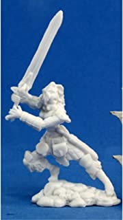 Reaper Deenah, Female Barbarian (1) Miniature