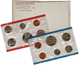 1971 PD&S US Mint Uncirculated Coin Mint Set Sealed Unicirculated