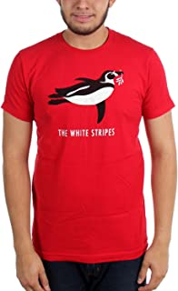 The Mens Red Penguin T-Shirt