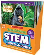 SuperScience STEM Instant Activities: Grades 1-3: 30 Hands-On Investigations With Anchor Texts and Videos