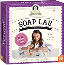 MindWare Science Academy Soap lab - Kids & Teens Create 6 soap-Making Crafts with Our Easy 16pc Science kit – A Creative D...