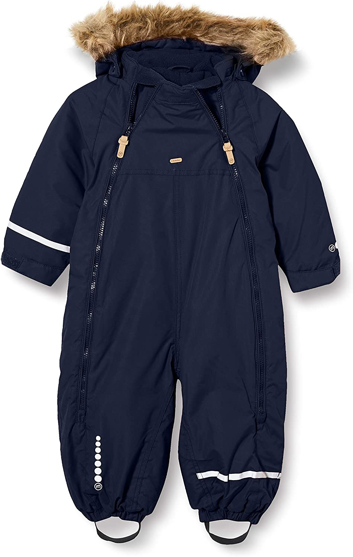 MINYMO Unisex Kids Snow Suit Tusser Solid Snowsuit