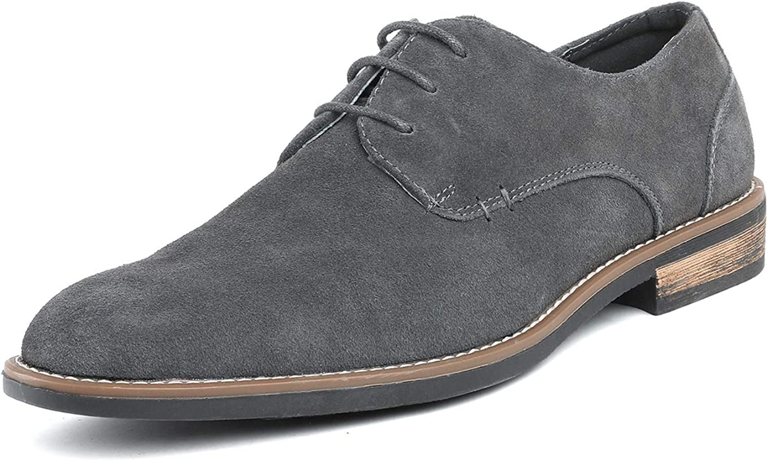 Bruno Marc Men's Urban 2021 autumn and winter new Suede Up Shoes Leather Lace Oxfords Columbus Mall
