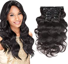 affordable clip in human hair extensions