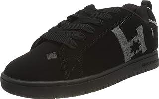 DC Shoes Court Graffik - Chaussures en Cuir - Homme - EU 53.5 - Noir