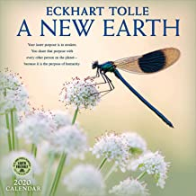 A New Earth 2020 Wall Calendar: A Year of Inspirational Quotes