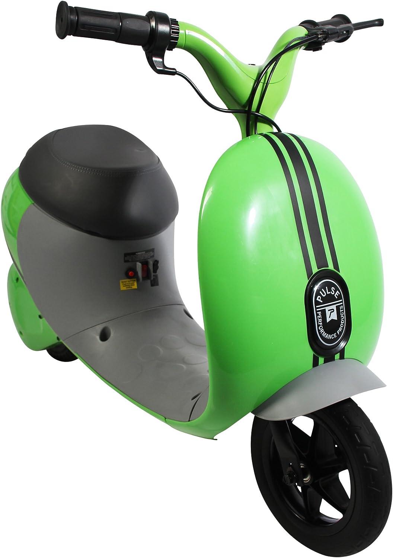 Pulse Performance Products Street Cruiser - Motocicleta eléctrica, color verde