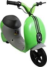 Pulse Performance Products Street Cruiser E-Motorcycle, Green