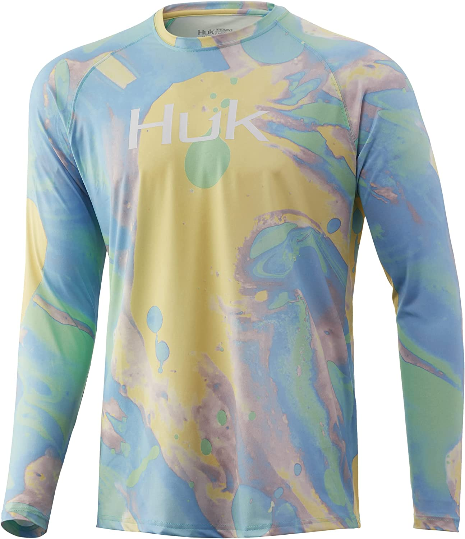 HUK Max 87% OFF Men's Pattern Pursuit Long Sleeve Shirt Gifts Fishing Performance