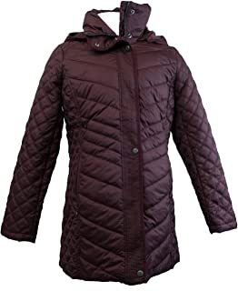 Quilted Hooded Jacket for Women