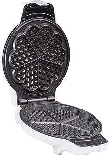 Fumiyama FWM 555 Waffle Maker with Temperature Control, Heart Shape Waffle