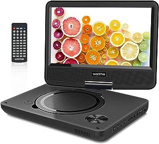 """WONNIE 2020 Upgrade 11.5"""" Lecteur DVD Portable avec écran Rotatif de 9,5"""" à.."""