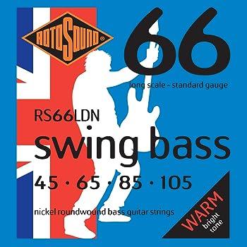 Rotosound RS66LDN Nickel Bass Guitar Strings (45 65 85 105)