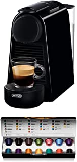 Nespresso De'Longhi Essenza Mini EN85.B - Cafetera monodosis de cápsulas Nespresso, compacta, 19 bares, apagado automático...