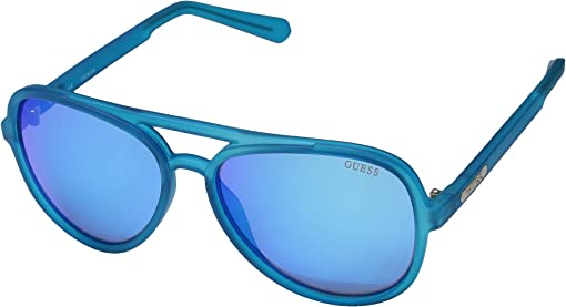 Matte Blue/Blue Mirror