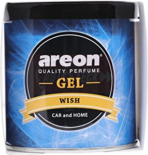 Areon Wish Gel Air Freshener for Car (80 g)