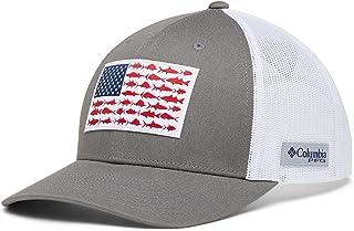 Unisex-Adult PFG Snap Back Fish Flag Ballcap