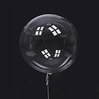 Clear Big Bobo Balloons 20 pack-20inch use with Helium or air