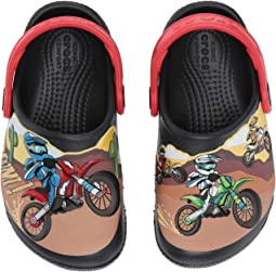 CrocsFunLab Motorsport Clog (Toddler/Little Kid)