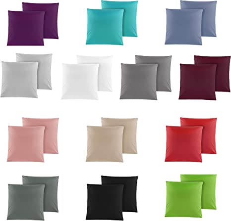 Kissenbezug Kissenhülle Stylisch Dekokissen Kissenhülle vielen Farben