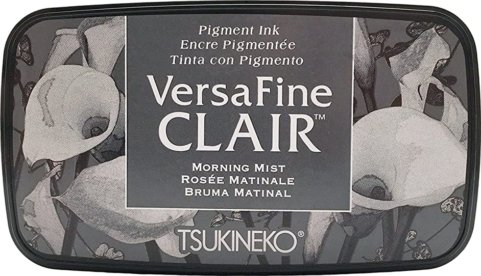 Tsukineko, VersaFine Clair, Full Size Ink Pad, Morning Mist