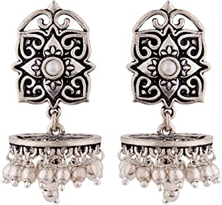 Voylla Work Essentials Rangoli Inspired Earrings